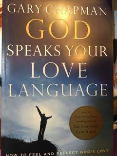 When God writes your love language by Gary Chapman