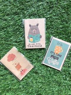 Cute Notebooks (Set of 3)