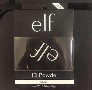 E.L.F sheer powder