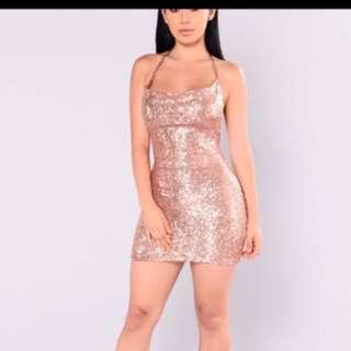 Fashion Nova sparkly mini dress