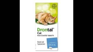 Drontal plus cat $600/24粒