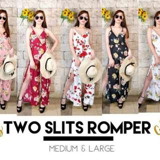 Two Slit Rompers
