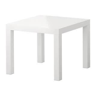 IKEA Slack White Side Table