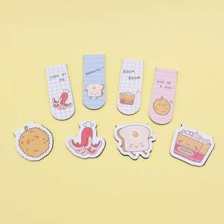 Delightful Snacks Magnet Bookmark