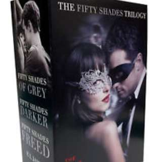 Fifty Shades Trilogy Movie Tie-in boxset