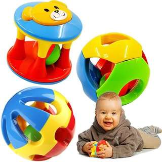 (Preorder) 3pcs Baby Rattle ball