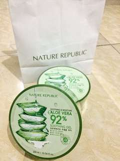 Nature Republic Aloe Vera Gel 92% Soothing Gel 300ml