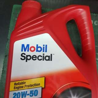 Mobil Special 'ENGINE OIL' 20W-50 4L