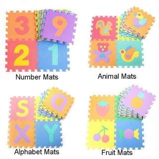 (Preorder) 10pcs Puzzle Foam Mat