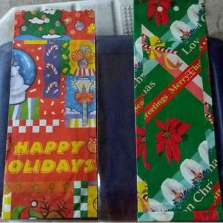 Christmas Wrapping Envelope
