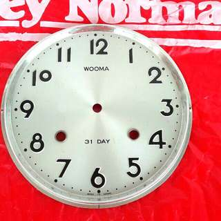 Wall Clock 12 Hours Dial