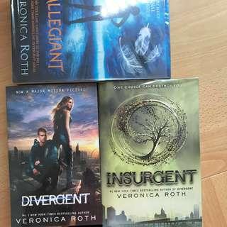 Divergent Trilogy Books