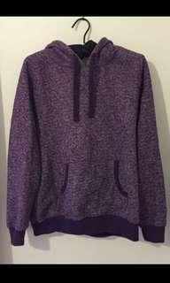 Purple hoddie