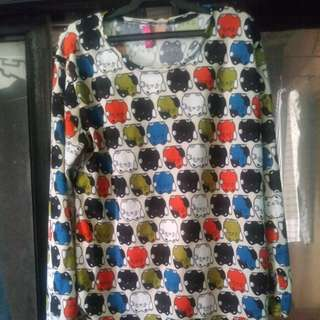 Printed Long sleeve Blouse (repriced)