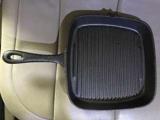 Brand New Cast Iron grill pan