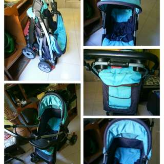 Stroller and car seat/carrier/rocker