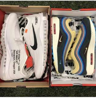 《ALL SIZES INSTOCK》SEAN Wotherspoon & OFF WHITE AIRMAX