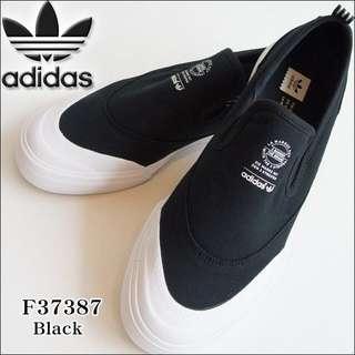 ADIDAS Originals MATCHCOURT SLIP 懶人鞋 黑