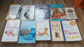 Baby and maternity books