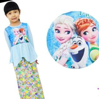 Muslin dress for kids