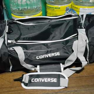Converse Dufflebag BNWT Authentic Expandable