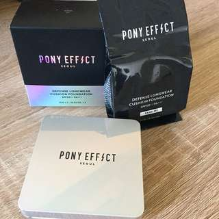 Pony Effect Defense Longwear Cushion