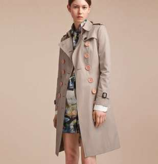Burberry Resin Button Stone Trench 外套
