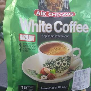 aek cheong instant white coffee