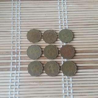 香港貳角女皇頭硬幣