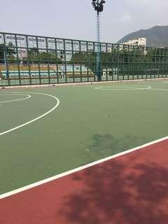 籃球足球場