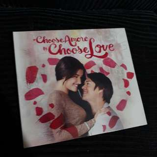 Choose Amore Choose Love Preloved album LizQuen