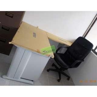 Khomi Furniture Shop - office partition (Lshape Table)