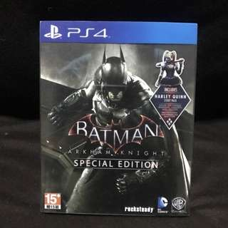 Batman Arkham Knight - Special Edition Steelbook PS4