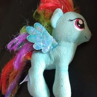 My Little Pony rainbow dash plush