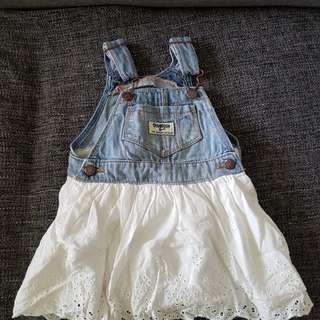 Worn: 12m oshkosh  jumper dress