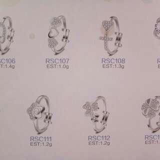 Children silver 925 Rings