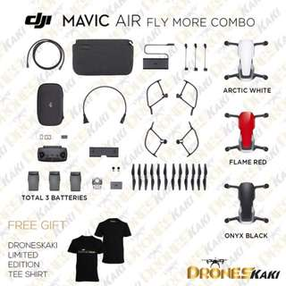 DJI Mavic Air Fly More Combo + 6Month Extended Warranty