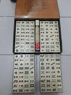 Preloved Mahjong Set Not Used