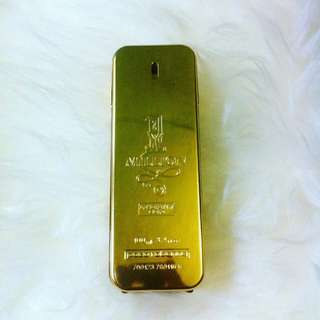 Pacorabane 1 Milion Absolutely Gold 100ml Original Parfum Unbox