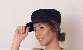 ⭕️baker boy hat