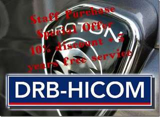 Staff Purchase for Proton,DRB-HICOM & AL- Bukhary Group and Companies