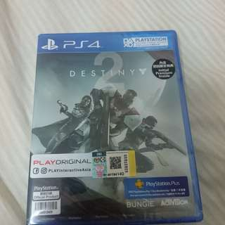 PS4 Destiny 2 & Nioh
