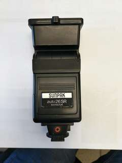 Sunpak thyristor SLR flash