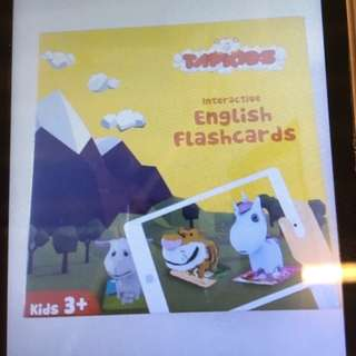 Brand New Tapkids Animal Augmented Reality (AR) Interactive English Flashcards
