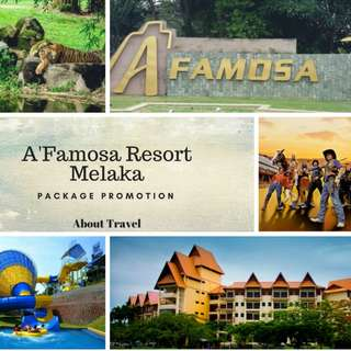 2D1N A'Famosa Resort Melaka (Safari Wonderland Package)