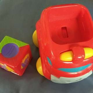Fisher Price car roller Toy