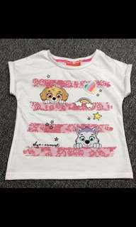Instock now paw patrol tops brand new size 4T and 5T (4-6yrs old)