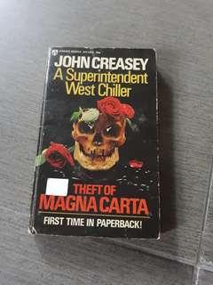 John Creasey -Theft of Magna Carta