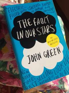 The Fault In Our Stars TFIOS Book