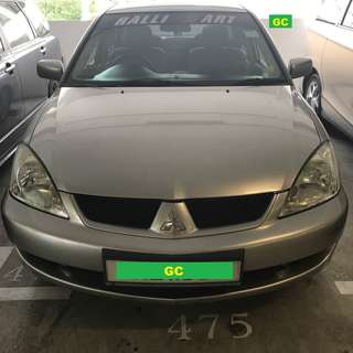 Mitsubishi Lancer Manual PROMO CHEAPEST RENT FOR Grab/Ryde